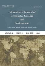 International Journal of Geography, Geology and Environment